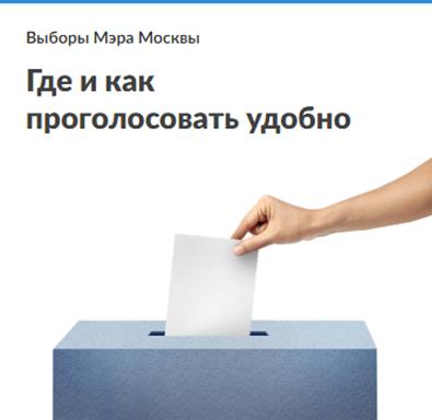 Где и как удобно проголосовать